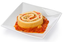 Savory Souffle Roulade Royalty Free Stock Photo