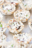 Savory Tarts Stock Photography