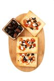 Savory tarts stock photo