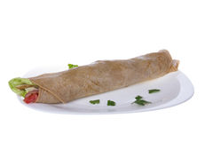 Savory wrap Royalty Free Stock Photography