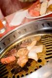 savoureux oriental chaud de barbecue photos libres de droits