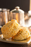 Savoury Breakfast Scones Royalty Free Stock Image