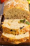 Savoury loaf cake Royalty Free Stock Image