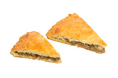 Savoury meat pie Royalty Free Stock Image