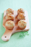 Savoury muffins Royalty Free Stock Image
