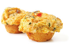 Savoury Muffins Stock Photo