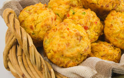 Savoury Muffins Stock Photography