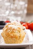 Savoury muffins with parmesan cheese Royalty Free Stock Image