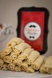 Savoury Pancakes Stock Photography