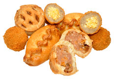Savoury Party Food Royalty Free Stock Photography
