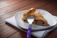 Savoury pie - torta salata Stock Photos