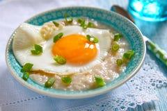 Savoury porridge Royalty Free Stock Photos
