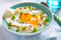 Savoury porridge Royalty Free Stock Image