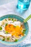 Savoury porridge Royalty Free Stock Photo
