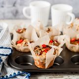Savoury Potato Muffins Royalty Free Stock Image