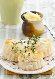 Savoury scones Stock Photos
