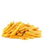 Savoury snack on white Stock Photos