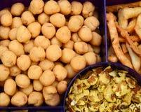 Savoury snacks Stock Photography
