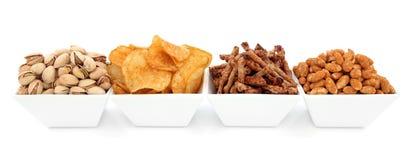 Savoury Snacks Stock Images