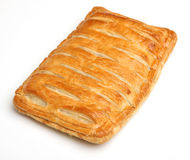 Savoury Steak Pastry Slice Royalty Free Stock Photos