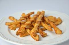 Savoury sticks/grissini Royalty Free Stock Photography