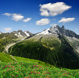 Savoy Alps-Europe. View of the Savoy Alps-Europe Royalty Free Stock Photography
