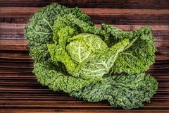 Savoy cabbage Stock Image