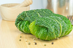 Savoy cabbage rolls Royalty Free Stock Photos