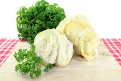 Savoy cabbage roulade Royalty Free Stock Photo