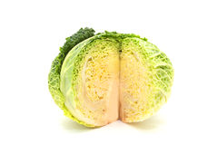 Savoy cabbages Royalty Free Stock Image