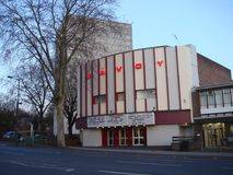Savoy cinema Stock Photography