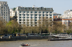 Savoy Hotel, London Stock Photography