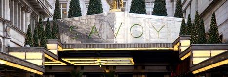 Savoy hotel Royalty Free Stock Photos