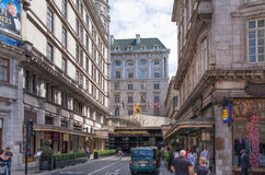 Savoy hotel, London Royalty Free Stock Images