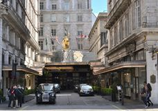 Savoy Hotel Strand London Stock Photos