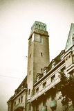 Vintage Tower In Malmoe, Sweden Royalty Free Stock Photo