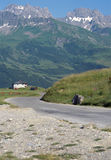 Savoy Landscape in Roselend pass, France Royalty Free Stock Photo