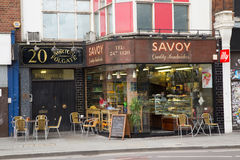 Savoy quality sandwiches Royalty Free Stock Image