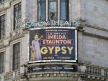 Savoy Theatre Obraz Stock