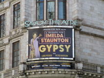 Savoy Theatre Stock Image