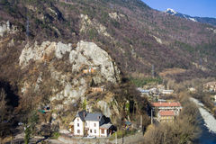 Savoyard village Stock Photo