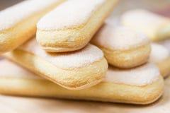 Savoyards sweet cookies Royalty Free Stock Photo