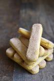 Savoyardy - biscuit for making tiramisu. Stock Photos