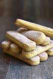Savoyardy - biscuit for making  tiramisu. Stock Image