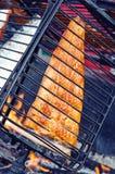 Savulohi- smoked salmon Stock Photos