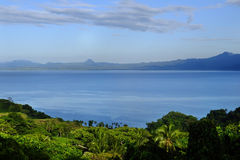 Savusavu bay, Vanua Levu island, Fiji Royalty Free Stock Images