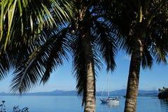 Savusavu harbor, Vanua Levu island, Fiji Stock Images