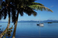 Savusavu harbor, Vanua Levu island, Fiji Royalty Free Stock Photography