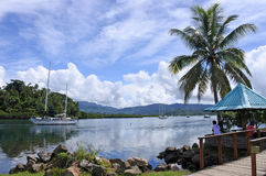 Savusavu waterfront Vanua Levu Island Fiji Stock Photos