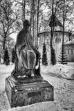 Savvino-Storozhevsky monaster w Zvenigorod w zima dniu przypuszczenia katedralna dmitrov Kremlin Moscow pocztówkowa regionu Russi Fotografia Royalty Free